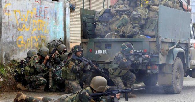 Kết quả hình ảnh cho image quân đội philippin chống is