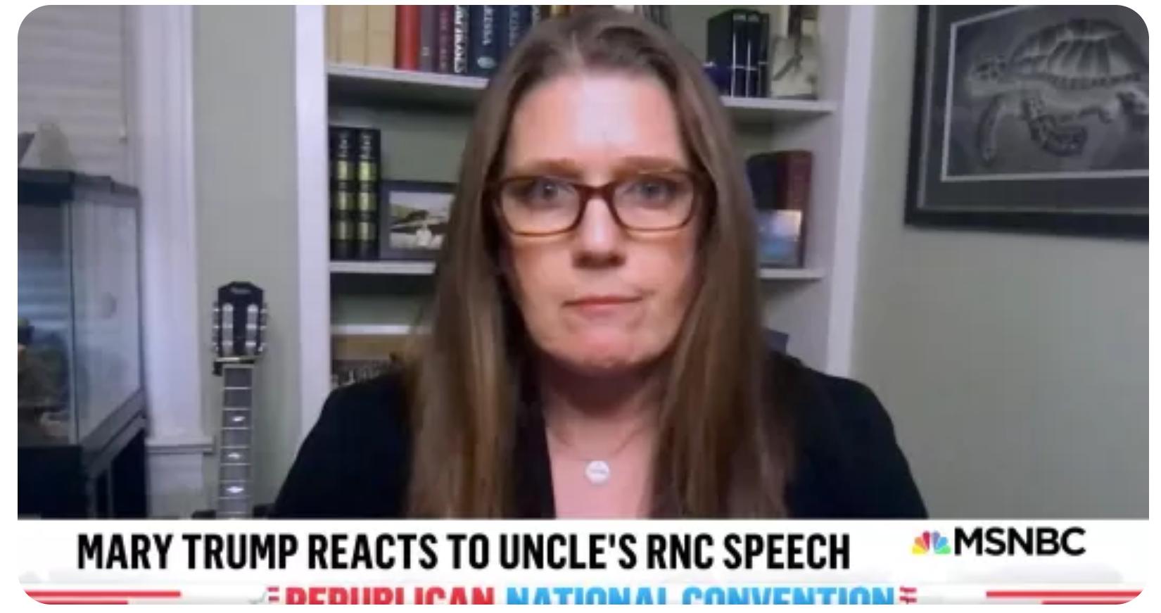 Mary Trump tiết lộ người chú 'tuyệt vọng' của cô ấy có thể đang cảm thấy như thế nào ngay lúc này